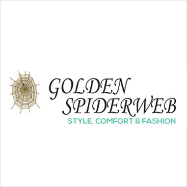 GoldenSpiderwebLogo