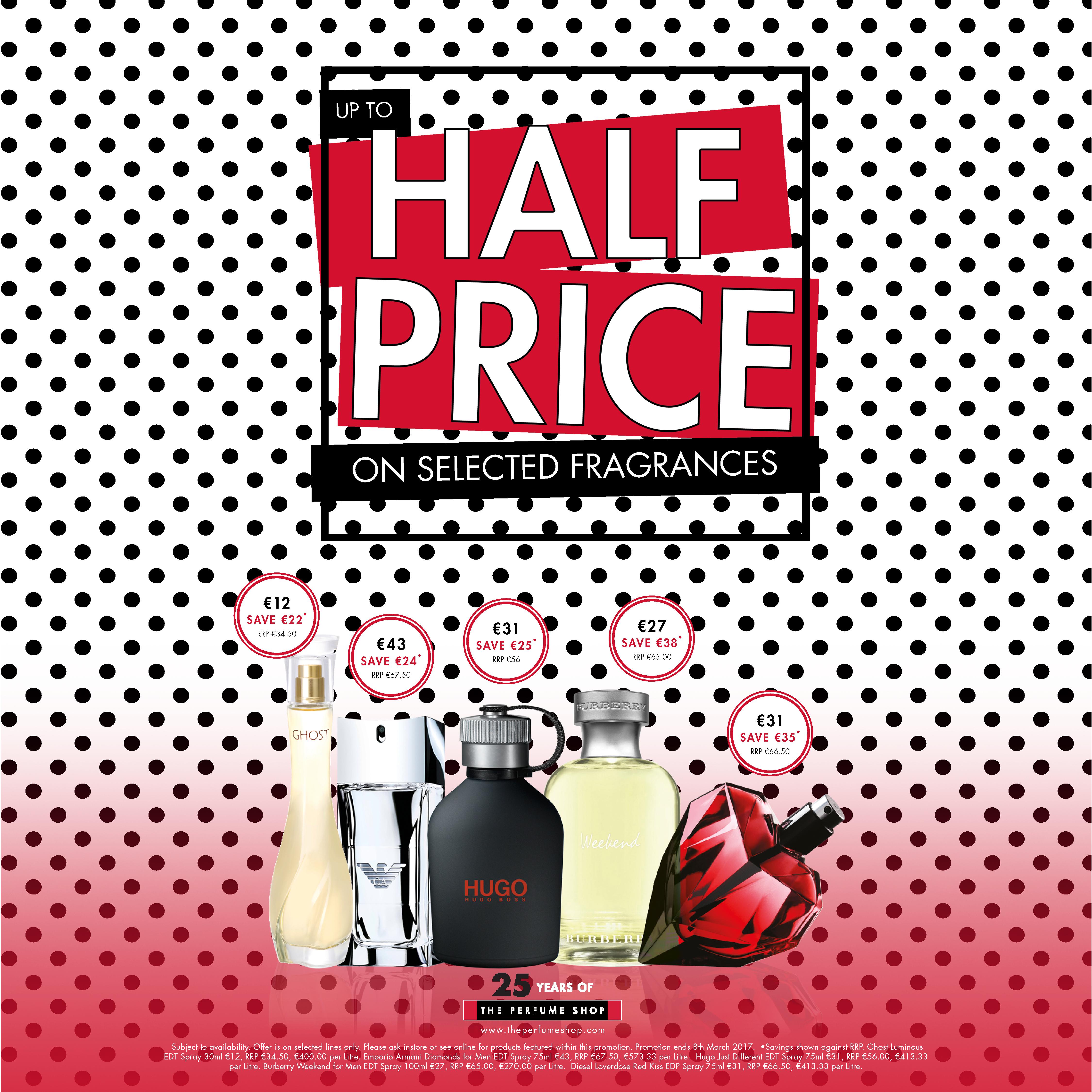 The Perfume Shop- Half Price ROI-1080x1080