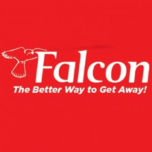V1 Falcon Travel logo