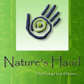 V1 Natures Hand logo