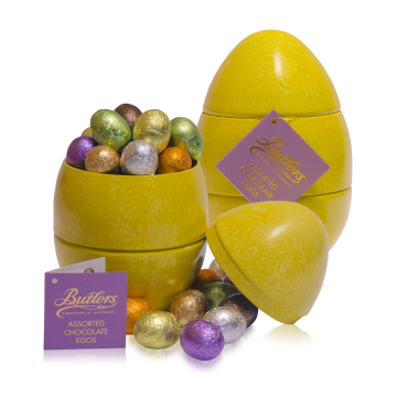 The butlers chocolates easter collection 2016 the crescent butlers novelty range easter is a magical time for children of all ages so butlers chocolates have created a variety of fun filled novelty gifts for all negle Gallery