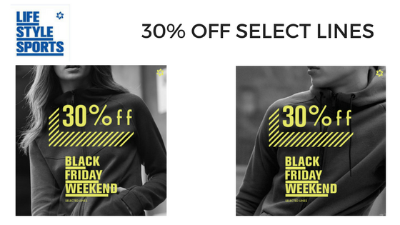 50% OFF Select Lines (3)