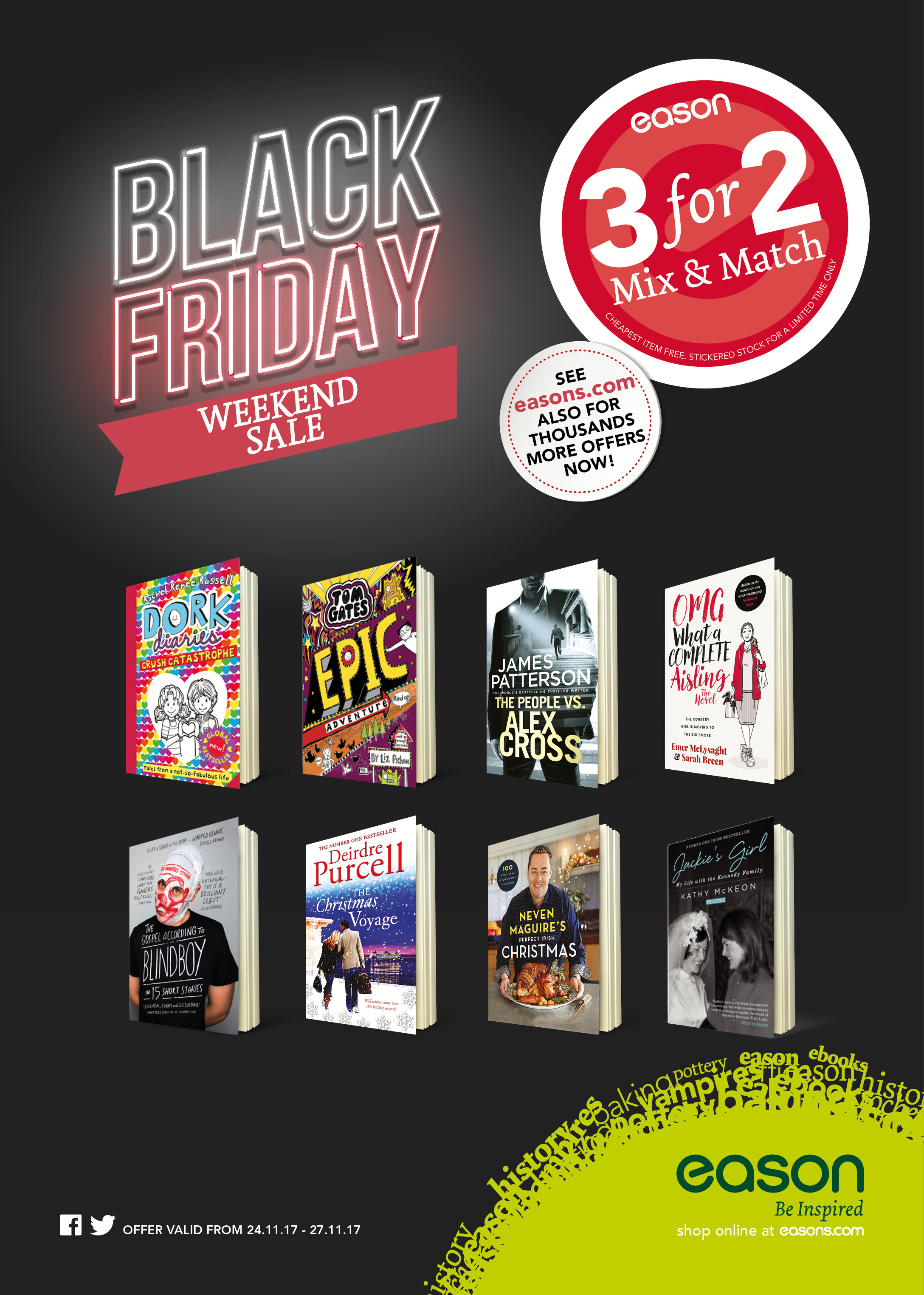 A3 3 for 2_Black Friday Poster